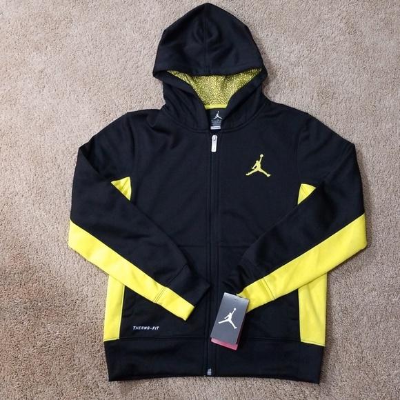 f9bb3343afea07 Boys Nike Jordan therma-fit hoodie